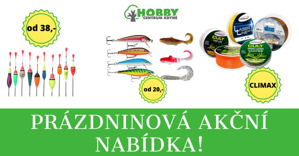 Nabídka sortimentu pro rybáře